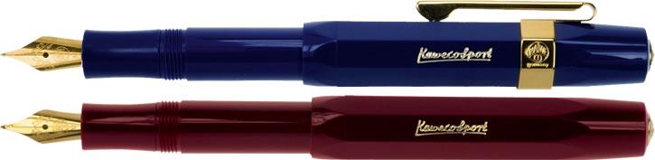 Kaweco Classic Sport Fountain Pen - Blue & Bordeaux