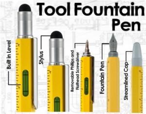 Monteverde One Touch Stylus Tool Fountain Pen