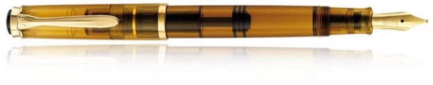Pelikan 200 fountain pen in Cognac