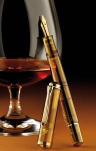 Classic Pelikan 200 Cognac Fountain Pen