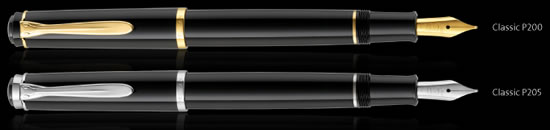 Pelikan Classic P200 & P205 fountain pens