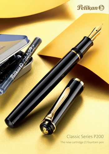 Pelikan P200 Cartridge Fountain Pen