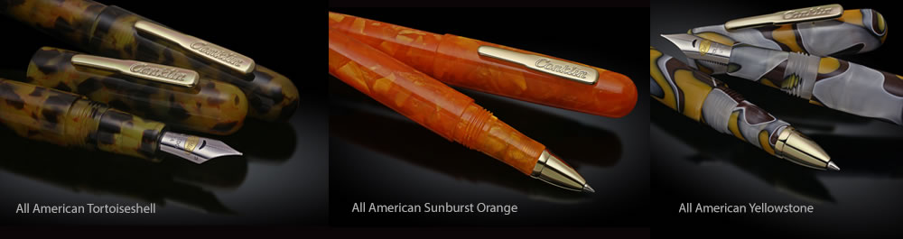 Conklin All American Fountain Pen & Rollerall Pen