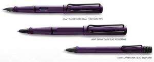 Lamy Safari Dark Lilac Pens