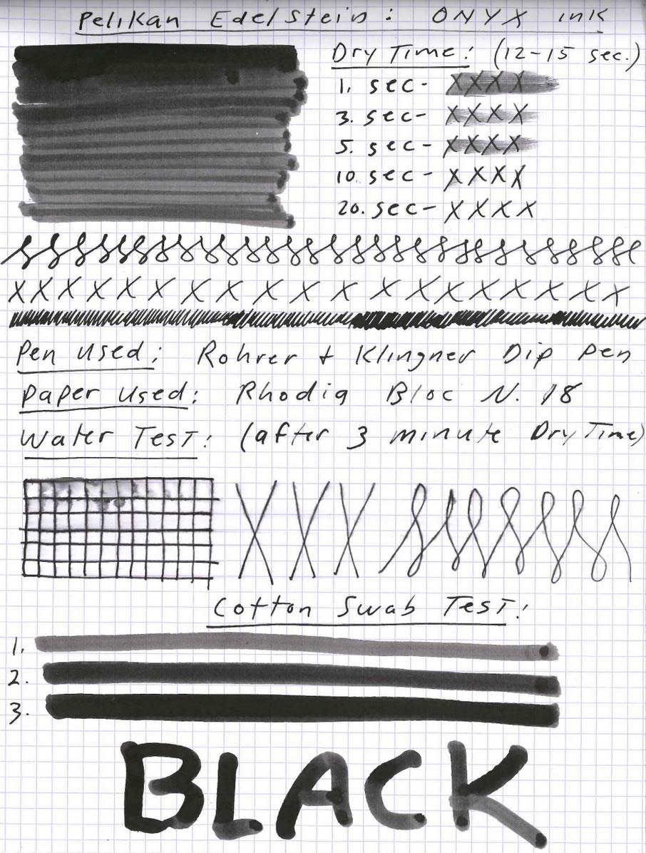 Pelikan Edelstein Onyx Ink