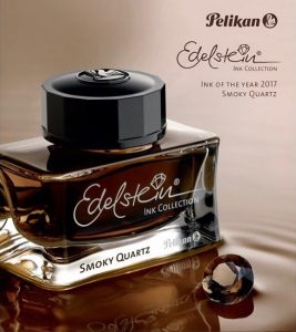Pelikan Edelstein Smoky Quartz Fountain Pen Ink