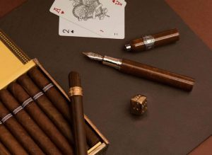 Montegrappa Cigar Pen with Cigars