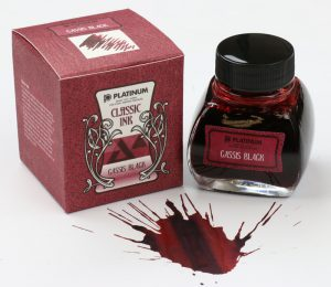Platinum Cassis Black Ink Bottle