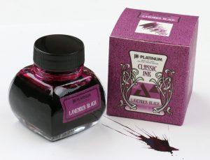 Platinum Lavender Black Ink Bottle