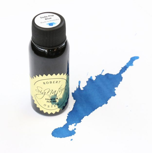 Robert Oster Soda Pop Blue Ink Bottle