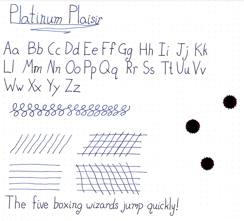 Platinum Plaisir Fountain Pen Review