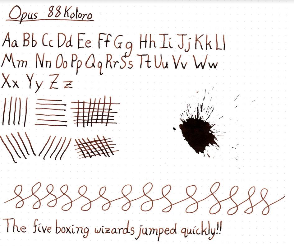 Opus 88 Koloro Fountain Pen Review