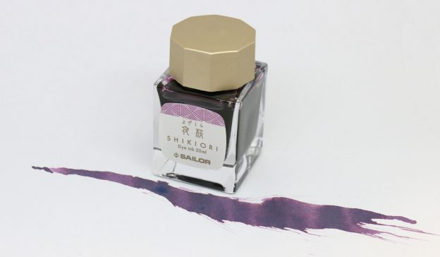Sailor Shikiori Four Seasons Yozakura Evening Spring Cherry Ink Bottle