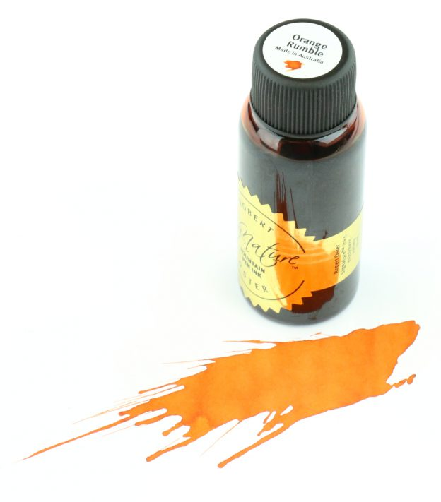 Robert Oster Orange Rumble Fountain Pen Ink
