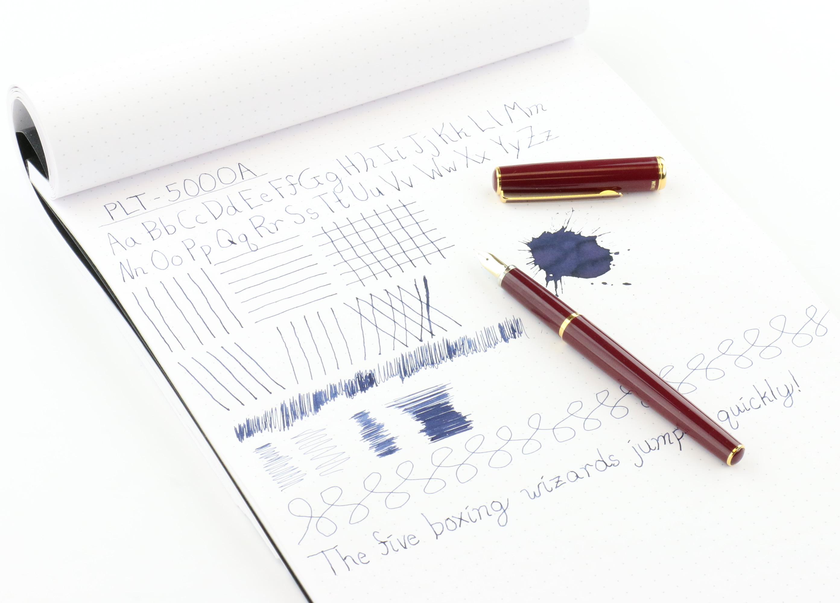 Platinum PTL-5000A Balance Fountain Pen Review