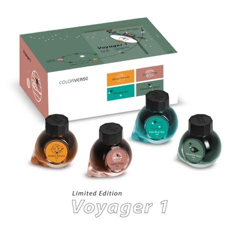 Colorverse Voyager 1 Fountain Pen Ink
