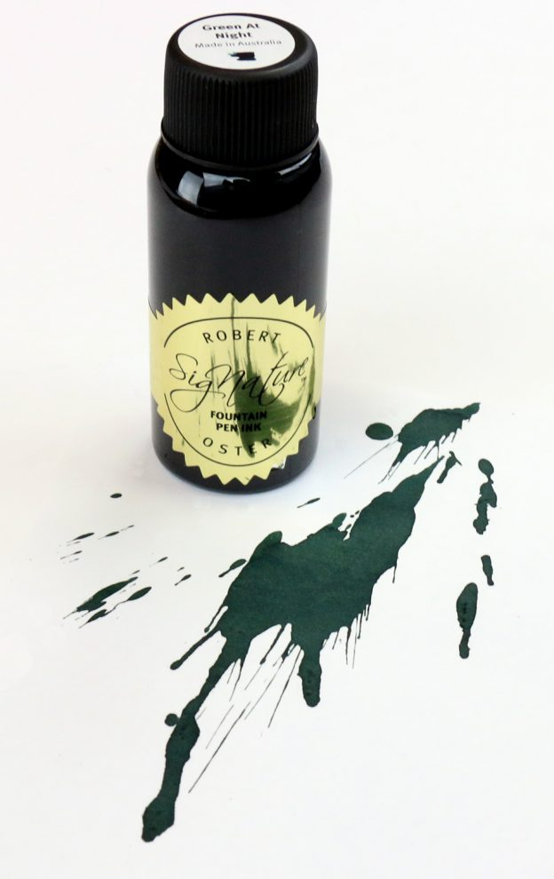 Robert Oster Green at Night Ink Bottle