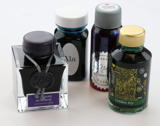 Top Shimmering Inks