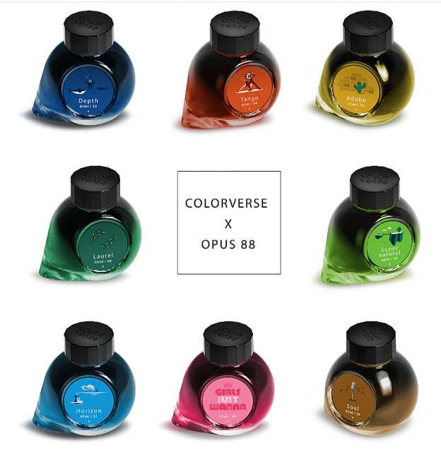 Colorverse Opus 88 Fountain Pen Inks