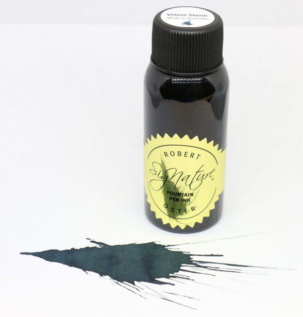 Robert Oster Velvet Storm Ink Bottle