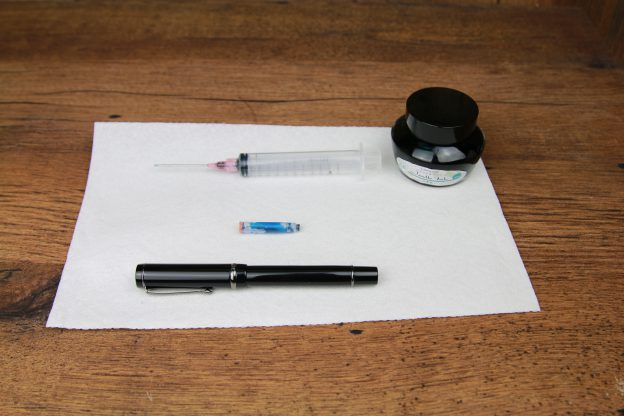 How To Refill Fountain Pen Ink Cartridges