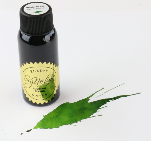 Robert Oster Verde de Rio Ink Bottle
