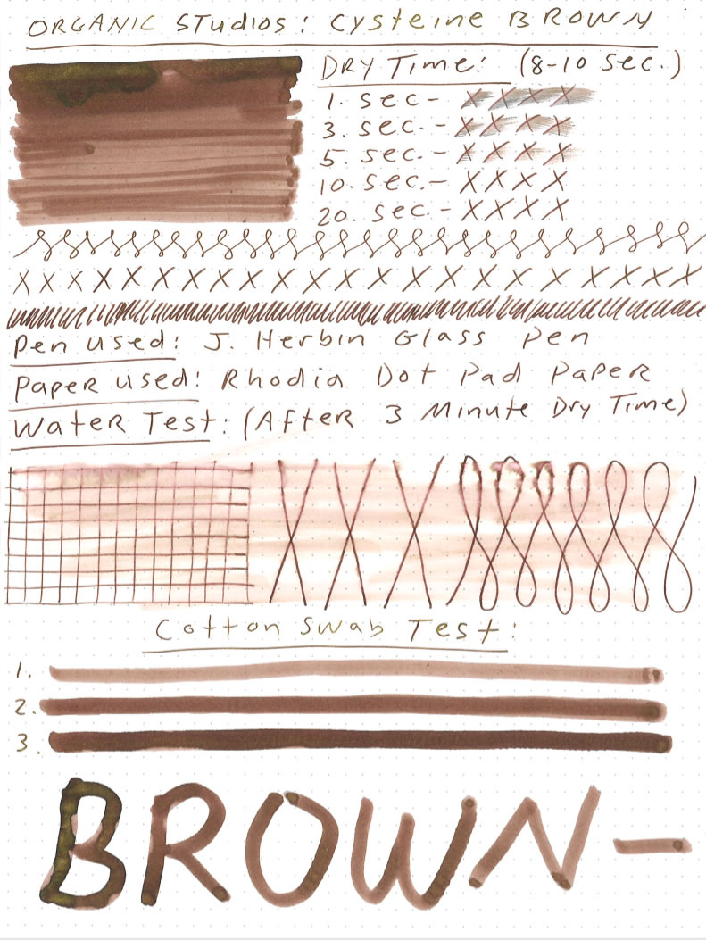 Organics Studio Cysteine Brown Ink