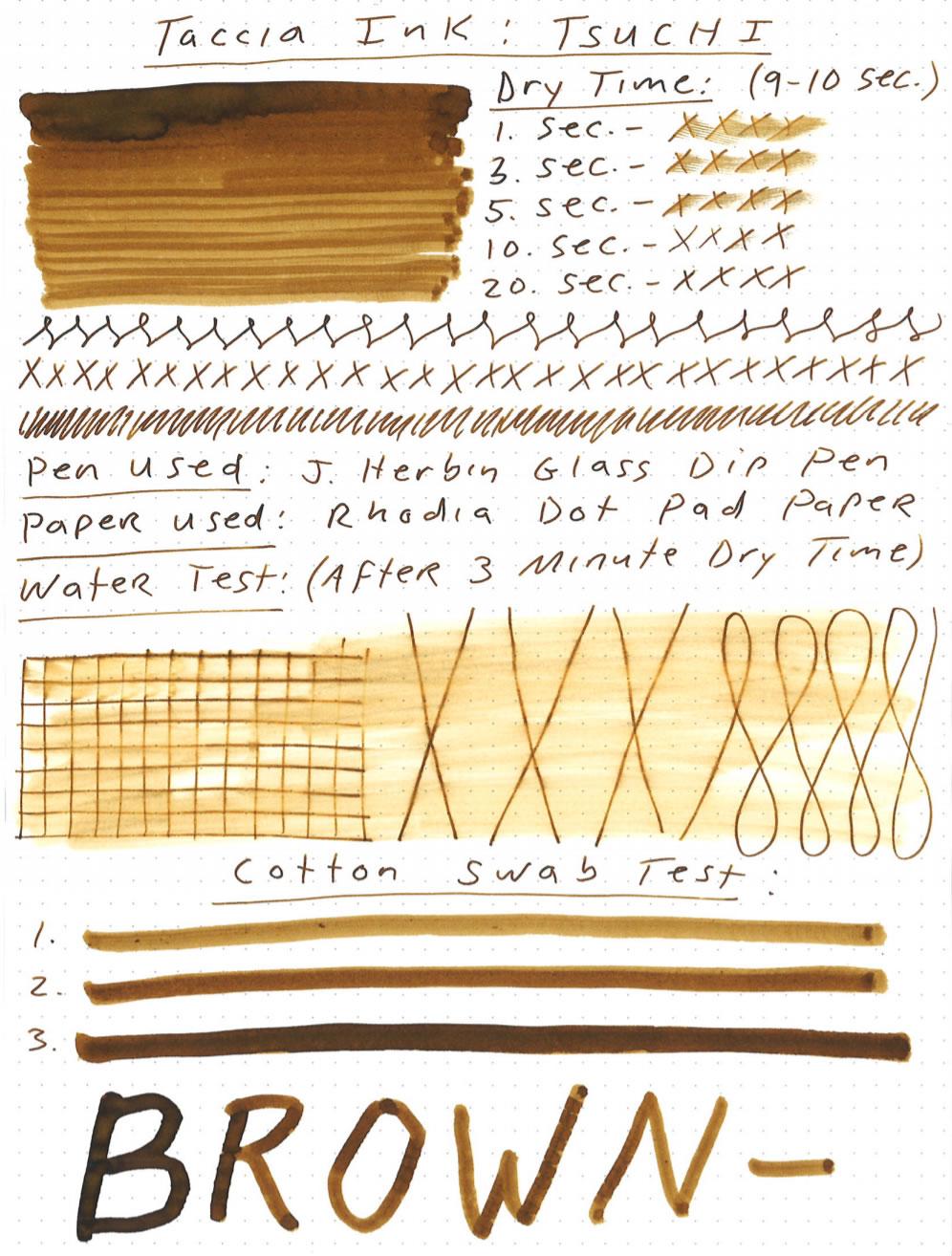 Taccia Tsuchi Golden Wheat Ink