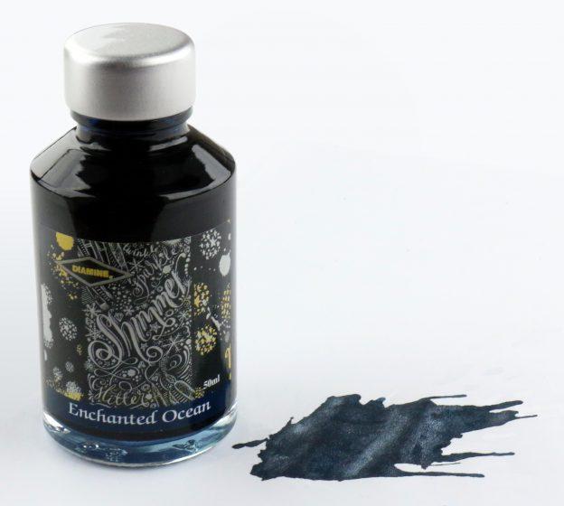Diamine Enchanted Ocean Shimmering Ink Bottle