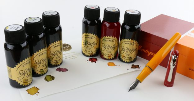 montegrappa, montegrappa tulip for team fox, tulip for team fox fountain pen, tulip for team fox fp, montegrappa fp, montegrappa fountain pen, pen chalet, pen chalet giveaway, fall giveaway, robert oster, robert oster inks, robert oster signature inks, fall fountain pen ink colors, fall fp inks