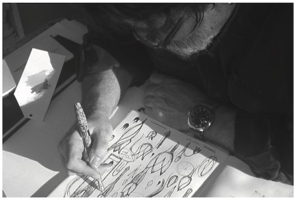 Montegrappa Tulip for Team Fox Designer Timothy John