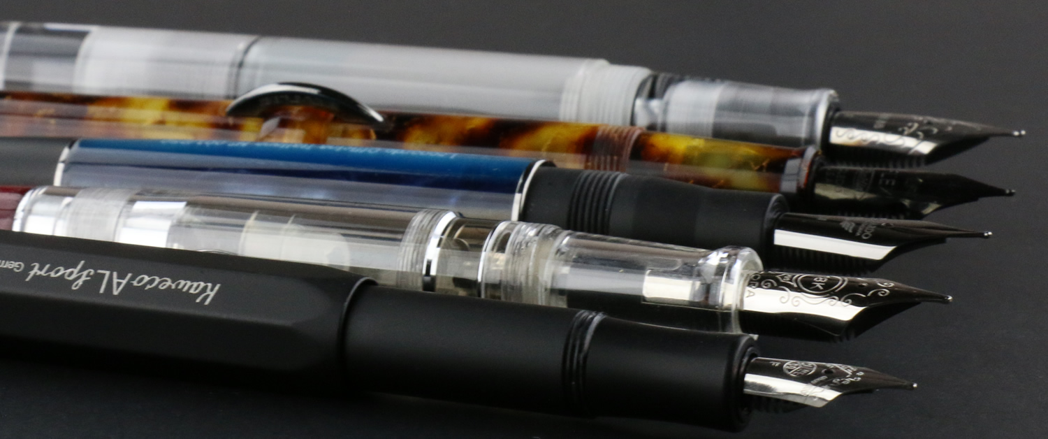 Different Types of Fountain Pens and How to Fill them - Pen Chalet