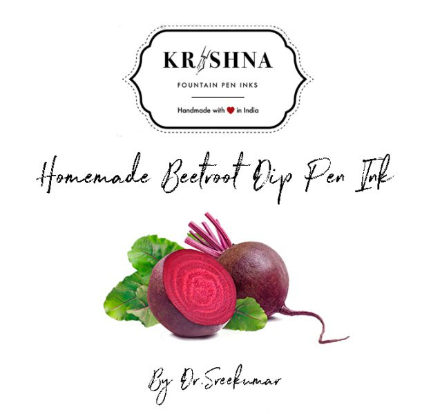 Krishna Ink Guide to Making Dip Pen Ink at Home