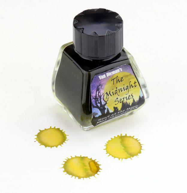 Van Diemans Midnight Series Howl at the Moon Ink Bottle
