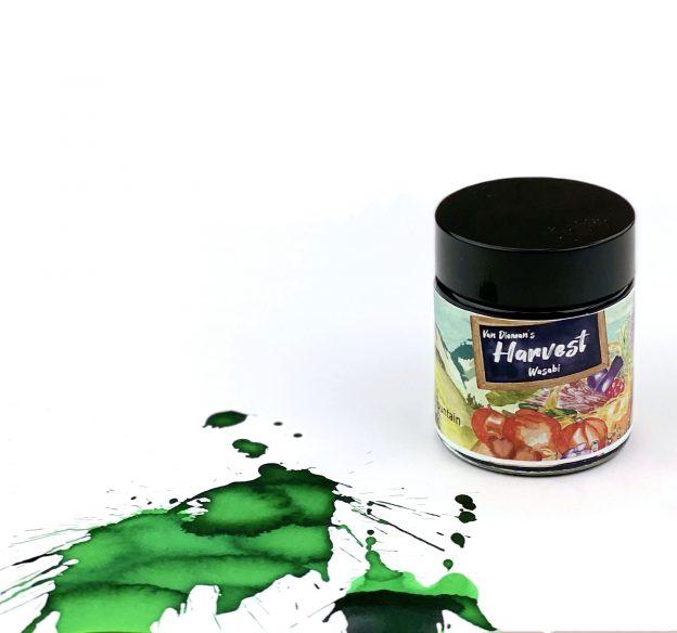 van diemans harvest wasabi ink review
