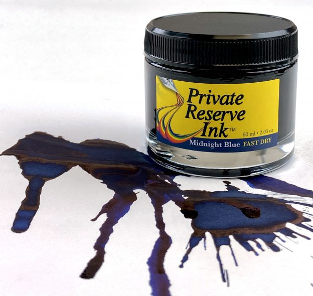 Private Reserve midnight blue fast dry ink