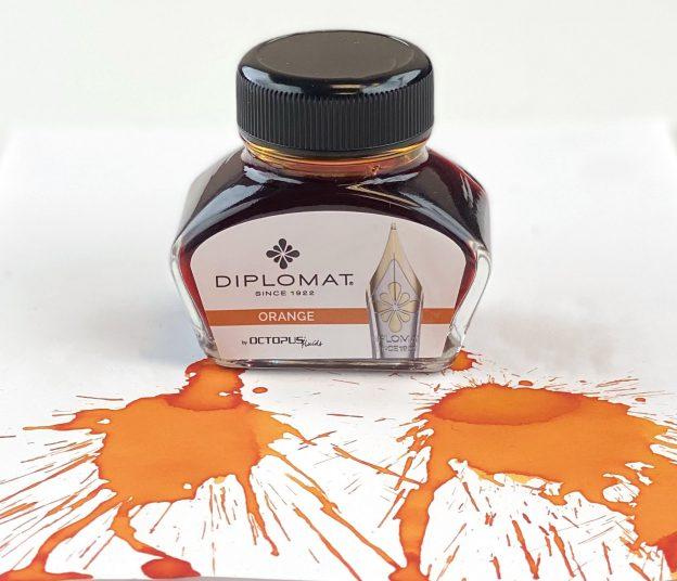 diplomat orange ink review