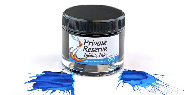 private reserve infinity turquoise ink