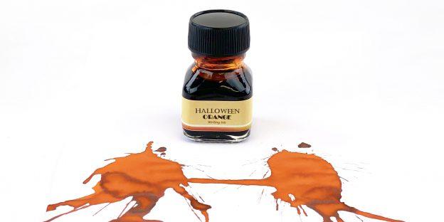 Krishna Super Rich Series Halloween Orange ink review