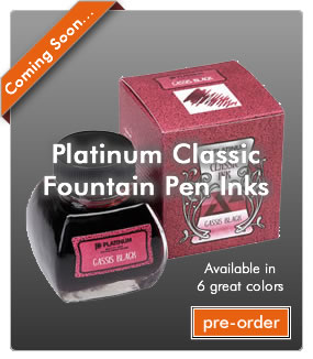 Platinum Classic Fountain Pen Ink