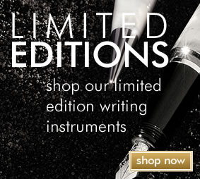 Limited Edition writing instruments