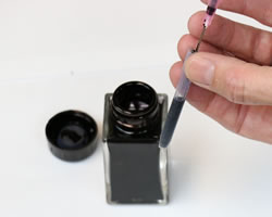 How To Refill An Ink Cartridge With Fountain Pen Ink