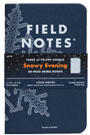 "Field Notes Winter Limited Edition ""Snowy Evening"" 3-Pack"