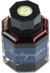 Montegrappa Bottled Ink(42ml) Fountain Pen Ink in Red