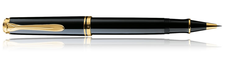 Pelikan Souveran 800 Collection Rollerball Pens in Black