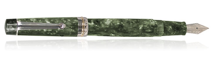 Delta Vintage Collection Fountain Pens in Green