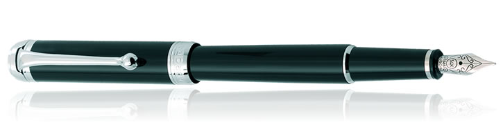 Aurora Talentum Finesse Collection Fountain Pens in Black