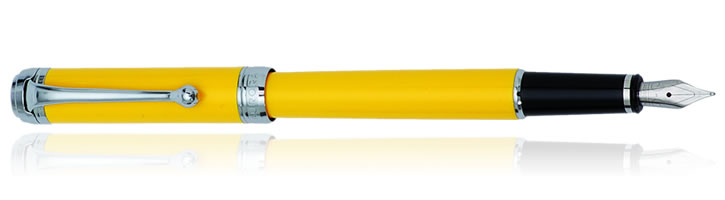 Aurora Talentum Finesse Collection Fountain Pens in Yellow