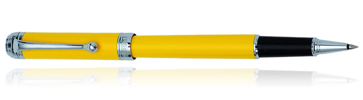 Aurora Talentum Finesse Collection Rollerball Pens in Yellow