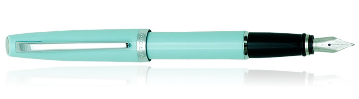 Aurora Style Collection Fountain Pens in Aquamarine